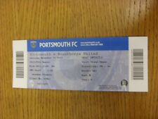 23/11/2013 Ticket: Portsmouth v Scunthorpe United  . Thanks for viewing this ite