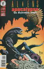 Aliens: Apocalypse—The Destroying Angels #4 FN; Dark Horse   save on shipping -