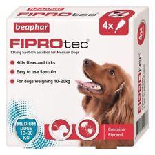Beaphar 15589 FIPROtec Spot-on for Medium Size Dogs - 4 Pipettes
