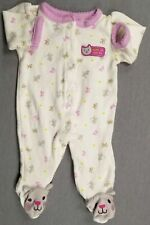 Baby Girl Clothes Child Mine Carter's Preemie Cute Can Be Kitten Footed Outfit