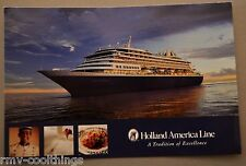 POST CARD HOLLAND AMERICA PRINSENDAM CRUISE SHIP MAIL POSTAL 2005 30702230 EX
