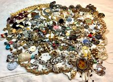 3+ lbs Broken Jewelry Beads Watch Parts Crafting Lot Art Collage Assemblage #2