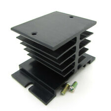 Aluminum Heat Sink Dissipation for SSR Solid State Relay 10A 20A 25A 40A Black