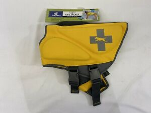 Top Paw® Neoprene Reflective Dog Life Jacket(Yellow XL)