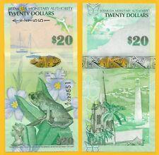 Bermuda 20 Dollars p-60b 2009 UNC Banknote