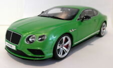Voitures, camions et fourgons miniatures verts en résine pour Bentley