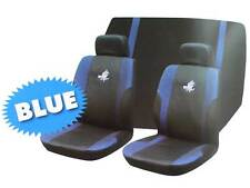 Roadstar WRX 6 Pc Car Seat Cover Set Blue Black