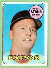 RUSTY STAUB Expos ~ 1969 Topps #230 ~ FREE SHIPPING