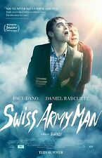 "Swiss Army Man movie poster (a) Daniel Radcliffe, Paul Dano - 11"" x 17"""