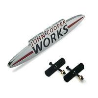 Mini F56 JCW Custom John Cooper Works Badge Black /& Red 145mm x 25mm SMPS2012 UK
