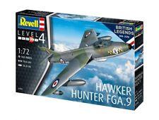 British Legends: Hawker Hunter fga.9, Revell Avion en kit, 1:72, 03908