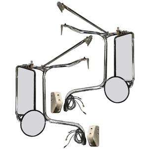 New Heated Mirror PAIR FOR 2006-2021 Peterbilt 335 340 357 382 385 386 325 330