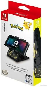 Pikachu Black and Gold Hori Playstand for Nintendo Switch