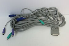 DELL 0G627 00G627 12' KVM CABLE SET MONITOR KEYBOARD MOUSE