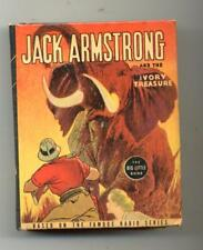 Jack Armstrong and the Ivory Treasure    Big Little Book     1937      Whitman
