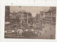 London Piccadilly Circus Vintage Postcard 763a