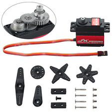 Waterproof Digital High Torque Metal Gear Servo Motor Kit For Airplane Boat 20KG