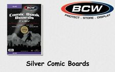 BCW - 100 Current Silver Book Backing Boards 24 PT. NEU&OVP