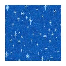 Fabric Traditions - Sparkle Enchantment Stars on Dark Blue - Cotton YARD
