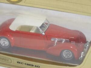 Models of Yesteryear Matchbox 1937 Cord 812 Y-18 Red & White