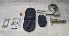 SimplySafe Smart Lock + PIN Pad - Black - Door Lock Home Protection +Internals