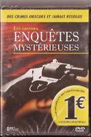 LES GRANDES ENQUETES MYSTERIEUSES - DVD NEUF