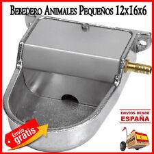 BEBEDERO PERROS aluminio. Utilizado a baja presión Animales Gatos Perros 12x16x6