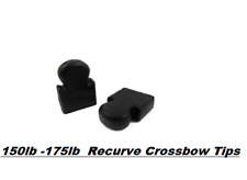 Crossbow Xbow Prod Limb Tips End Caps X2 For Man Kung 150lb - 175lb Bows