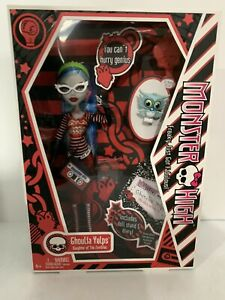 RARE Monster High Doll - Ghoulia Yelps Sir Hoots A Lot Daughter Of The Zombies