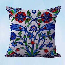 US Seller-retro boho floral cushion cover throw pillow covers 18x18