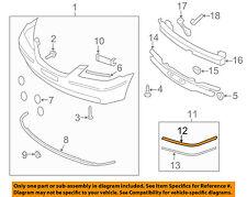 HYUNDAI OEM 06-10 Azera-Bumper Trim-Molding Trim Right 865863L200