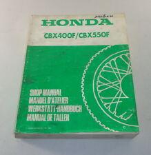 Officina Manuale Honda CBX 400f/CBX 550f STAND 1982