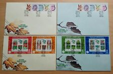 2000 Malaysia XXI IUFRO World Congress Forest Research, Stamps & MS on 4 FDC (A)