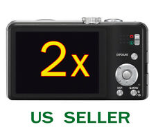 2x Clear LCD Screen Protector Guard Film For Panasonic Lumix DMC-ZS19