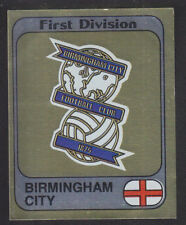 Panini - Football 82 - # 33 Birmingham Foil Badge