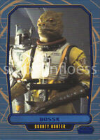 2012 Topps Star Wars Galactic Files Blue Parallel #135 Bossk 275/350