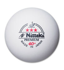 Nittaku 3-Star PREMIUM 40+ Table Tennis Balls Plastic Ball (Sale)