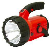 3W Rechargeable Spot Light Work Red Warning Flashing Side Torch 18 LED 300m Beam