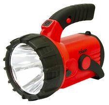 3W ricaricabile Spot Light Work rosso lampeggiante di avvertimento lato torcia 18 LED 300m Beam