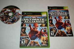 Marvel Ultimate Alliance Microsoft Xbox Video Game Complete