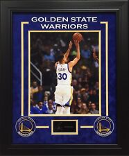 STEPHEN CURRY GOLDEN STATE WARRIORS 11X14 PHOTO WITH AUTOGRAPH REPLICA FRAMED