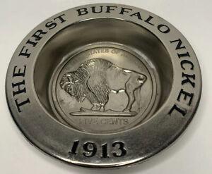 Avon The First Buffalo Nickel 1913 Soap Dish
