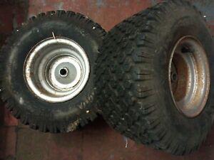 honda HT 3810 rear wheels