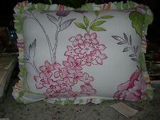 "Rose Tree ""Marseilles"" Floral 1Pc Breakfast Pillow 12X16 Nip"