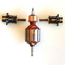 INDUIT + CHARBON MOTEUR POUR VORWERK THERMOMIX TM3300 TM 3300