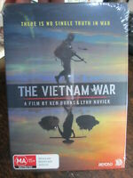 THE VIETNAM WAR A FILM BY KEN BURNS LYNN NOVICK DVD massive 17Hours + Bonus