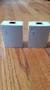 TP-Link TL-PA4010 KIT AV600 600Mbps Nano Powerline Ethernet Adapter Starter Kit