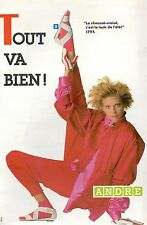 ▬► PUBLICITE ADVERTISING AD CHAUSSURES ANDRE (c)