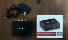 RadioShack Component to HDMI Video Converter - Great for Retro Gaming!