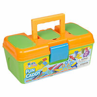 29 PCS Clay Toy Dough Set With Carry Modelling Shapes Tool Case Kids Xmas Gift
